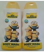 Minions Movie Body Wash & Bubble Bath Set Vitamin E Banana Scented 2 pc  - $18.05