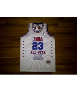 BNWT Authentic Mitchell & Ness NBA All Star 2003 Michael Jordan White Je... - $299.99