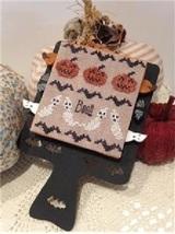 Hornbook Series #3 Halloween cross stitch chart Mani di Donna - $27.00