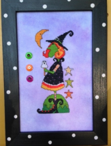 Wilhelmina And Her Ghost Cycle cross stitch chart Amy Bruecken Designs - $7.20
