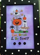 Be Scary cross stitch chart Amy Bruecken Designs - $7.20