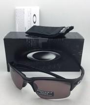 Polarized OAKLEY Sunglasses QUARTER JACKET OO9200-17 Matte Black w/ Prizm Daily