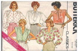 3641 UNCUT Vintage Butterick SEWING Pattern Misses Loose Fitting Blouse ... - $4.88
