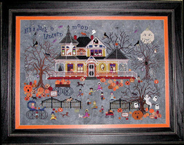 Seedy Pumpkin Cottage cross stitch chart Praiseworthy Stitches - $12.60
