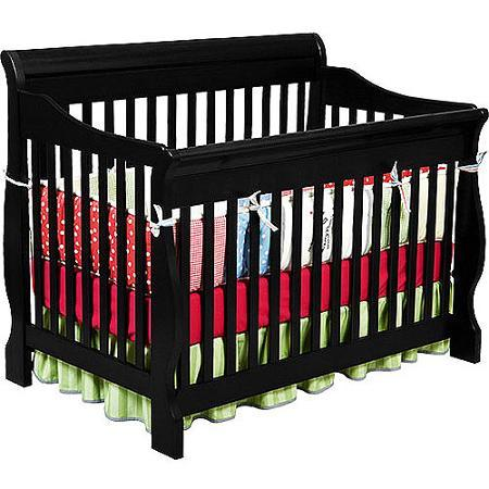 in 1 convertible baby crib baby nursery furniture black cribs