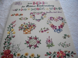 Iron-On Transfers for Ribbon Embroidery - $10.00
