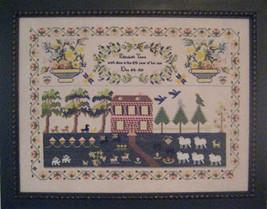 Elizabeth young 1829 sampler cross stitch chart Samplers Revisited - $21.60