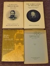 3 Merton M. Sealts, Jr. books Pursuing Melville, The Early Lives of Melv... - $25.00