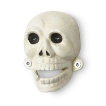 Wall Coke Skull Bottle Opener Vintage Tattoo Punk Kitsch Beer Cast Iron ... - $14.44
