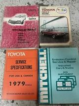 1979 Toyota Celica Servizio Riparazione Negozio Officina Manuale Set W - $58.82