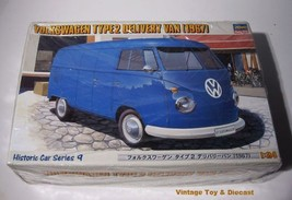 ~ Hasegawa  1967 Volkswagen Type 2 Van - 1:25  VW Model Kit 21209 - in Box - $24.50