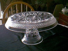 "Imperial Cape Cod 11"" Cake Stand 160/103D - $29.70"