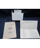 Honeywell uLYNX User Guide & Software Graphics Driver Pop-up Menus for T... - $34.73