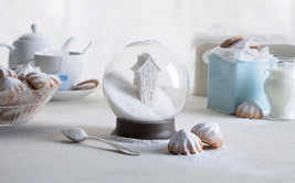 Home Set Décor Kitchen Designer Gift Funky Bar Sugar Coffee Bowl & 4 Coa... - $45.00