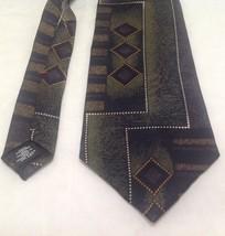 """Zylos George Machado Necktie, 4""""x59"""", 100% Silk, Black/Green - $19.99"""