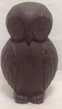 """Owl Door Stop, Cast Iron, Brown, 7"""" by 4"""" - $45.99"""