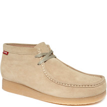 Clarks Men's Stinson Hi Top Wallabee Boots Sand 11.5 M MSRP 100 New - £55.53 GBP