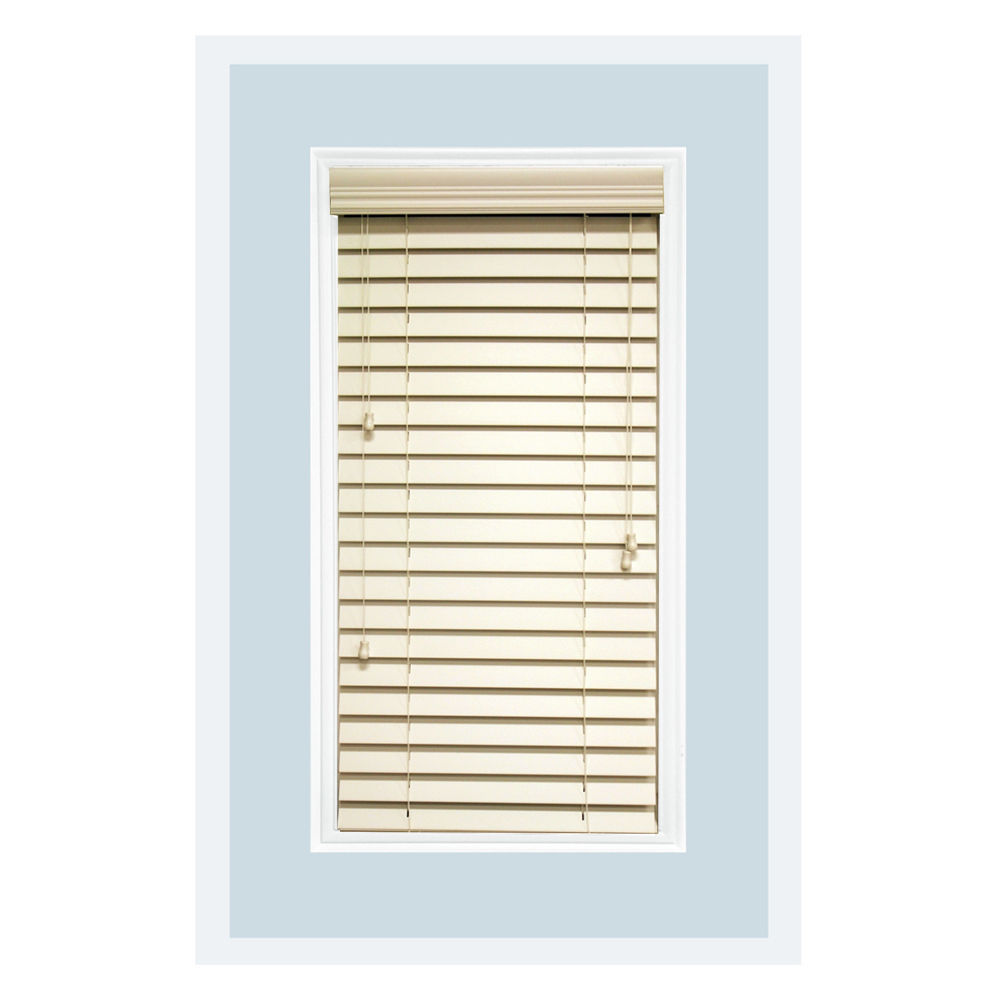 Custom made 2 5 faux wood horizontal window blind inside for 2 faux wood window blinds