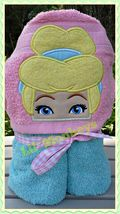 Cinder Princess Childrens Beach Towel/Kids Bath Towels/Toddler Hooded To... - $30.00