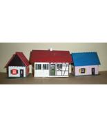HO Trains Plasticville Structures - 3 Houses - $8.00