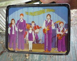 THE PARTRIDGE FAMILY LUNCH BOX FROM 1971 WITH THERMOS COLUMBIA PICTURES - $128.69