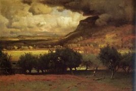 12X16 inch Innes George The Coming Storm HR 1878 Canvas Art Repro - $19.58