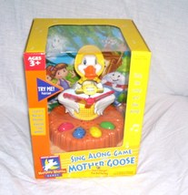 Electronic SING ALONG GAME WITH MOTHER GOOSE NEW! 2002 - $24.96