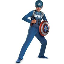 Captain America Movie 2 Basic Costume Boy Small (6) - $12.95