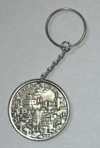 Vintage 1960's Key Chain Holder Israel Souvenir Jerusalem Haogen Original Pack image 1