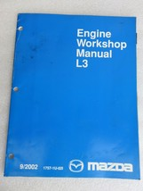 2002 Mazda L3 Engine Service Repair Manual OEM Factory Dealership Workshop - $2.76