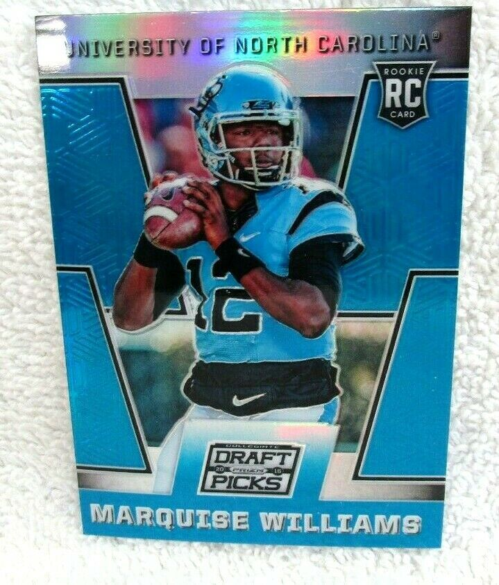 Primary image for MARQUISE WILLIAMS RC 2016 PANINI PRIZM DRAFT PICKS BLUE REFRACTOR#171 PSA10?