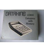 Vintage Dataking LC800 LCD Calculator with Memory - $119.95