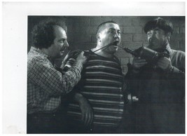 3 Stooges Drill  Mo Larry Curly Vintage 11X14  BW TV Memorabilia Photo - $12.95
