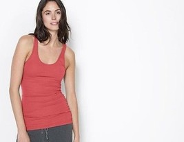 JAMES PERSE Standard WD13399CU ROUGE Pigment TANK Top V-Neck SLEEVELESS 4 - $79.15