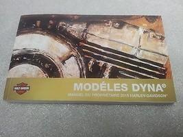 2015 Harley Davidson Dyna Models FRENCH Owner's Manual 99467-14FR - $29.66
