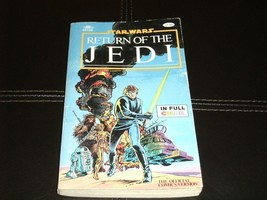 STAR WARS Comic Color OFFICIAL Version Book RETURN OF THE JEDI 160 Pages... - $9.84