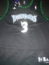 Timberwolves Marbury Hardwood Classic Retro Throwback Jersey Stitched Wi... - $22.95