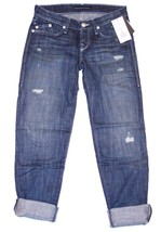 ROCK & REPUBLIC Low Rise DISTRESSED Denim JEANS $240 23 FREE SHIPPING - $197.95