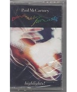 Paul McCartney Tripping the Live Fantastic: Highlights 1990 Cassette (se... - $9.70