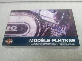 2014 Harley Davidson Flhtkse – Cvo Limited Models French Owner'S Manual 99473 14 - $29.65