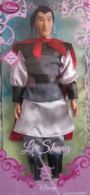 "Disney Princess Mulan Exclusive 12"" Doll - Li Shang  - $21.56"
