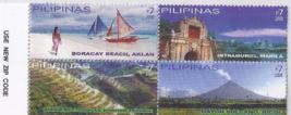 4 PHILIPPINE Boracay, Intramuros, Banaue Rice Terraces, Mayon Volcano St... - $2.95