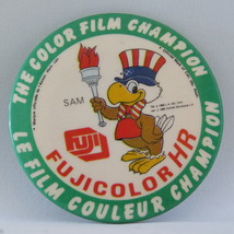 1984 Summer Olympic Games - Fuji Film Sponsor Pin - Canada Release - $19.00