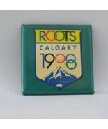 Very Rare - 1988 Winter Olympic Games Sponsor Button - Root Canada  - $25.00