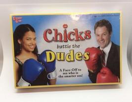 CHICKS BATTLE THE DUDES  UNIVERSITY GAMES SEALE... - $12.19