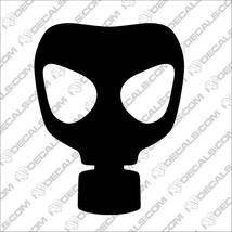 Gas Mask Car Window Vinyl Sticker Decals JDM Je... - $2.99