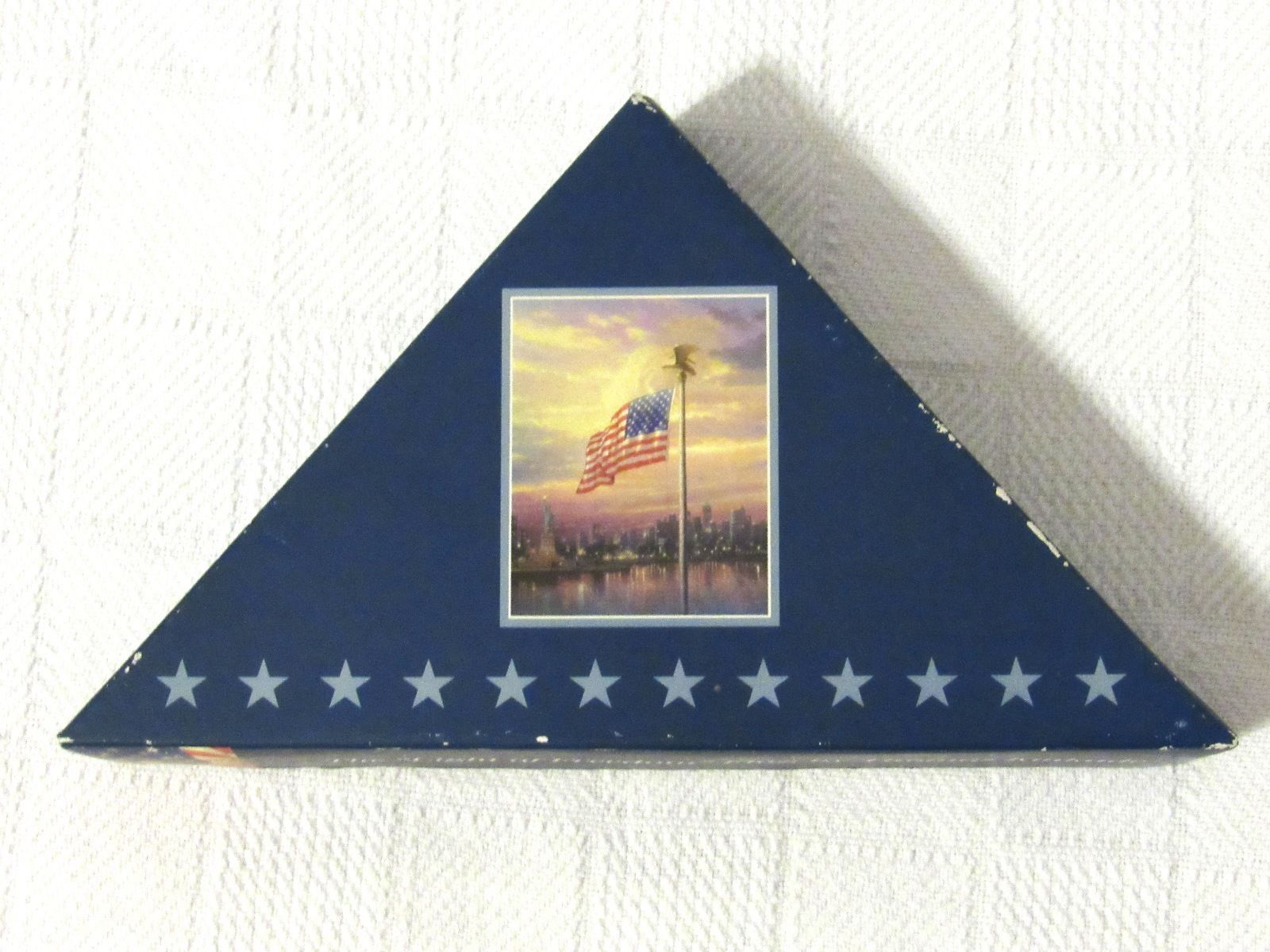 """The Light Of Freedom"" Flag By Thomas Kinkade (Boxed)"