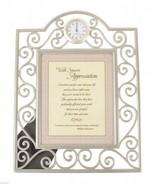 Timeless Treasures Desk Clock Picture Frame Sincere Appreciation Gift Gi... - $26.99