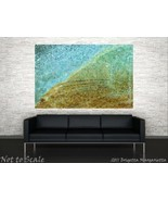 Celestial Water Mosaic 24 x 36 Large Art Galler... - $695.00