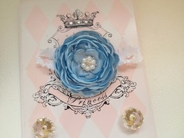 Newborn Baby Girl Cinderella Inspired Headband - $8.50